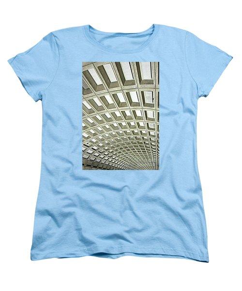 D C Metro 2 Women's T-Shirt (Standard Cut) by Randall Weidner