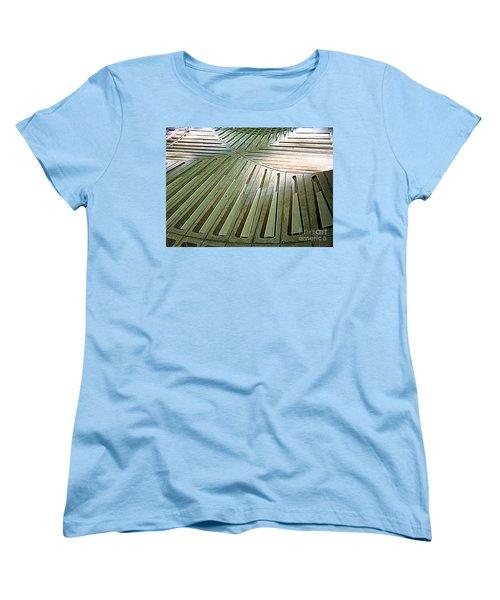 D C Metro 3 Women's T-Shirt (Standard Cut) by Randall Weidner