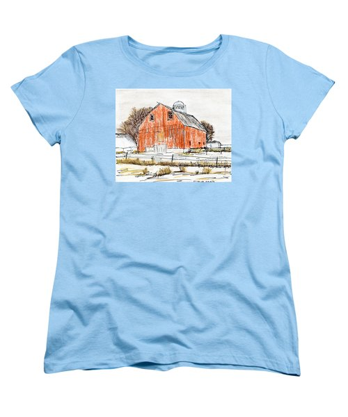 Dairy Barn Women's T-Shirt (Standard Cut) by R Kyllo