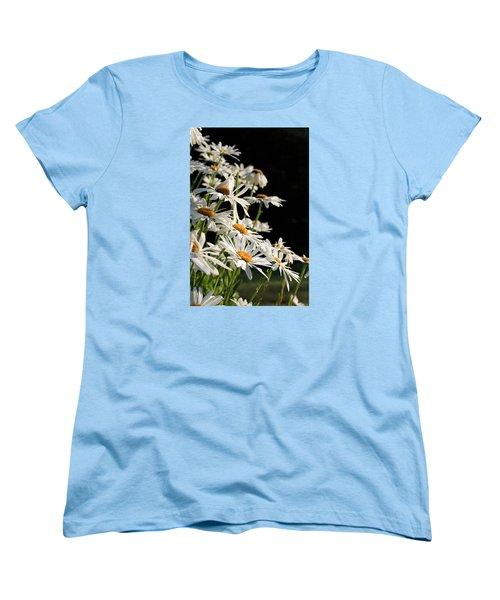 Daisies Women's T-Shirt (Standard Cut) by Dorothy Cunningham