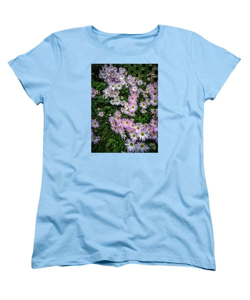 Daisy Patch Women's T-Shirt (Standard Cut) by David Smith