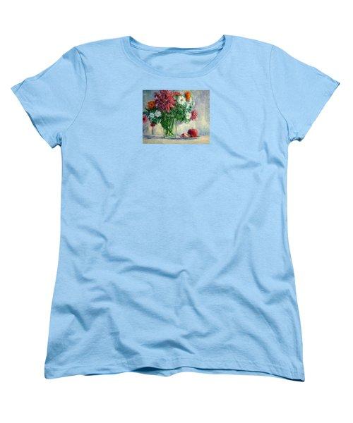 Dalias Women's T-Shirt (Standard Cut) by Jill Musser