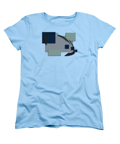 Dallas Cowboys Abstract Shirt Women's T-Shirt (Standard Cut) by Joe Hamilton