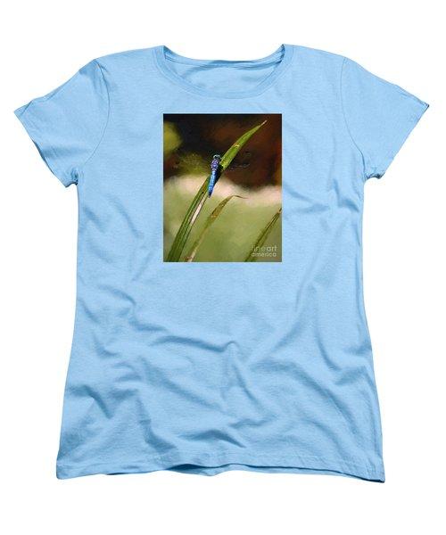 Women's T-Shirt (Standard Cut) featuring the photograph Damsel by John  Kolenberg