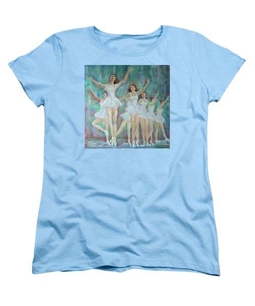 Dance Rehearsal Women's T-Shirt (Standard Cut) by Lyric Lucas