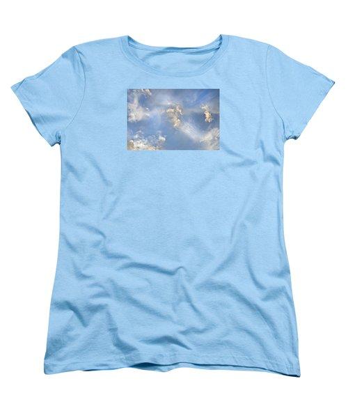 Dancing Clouds Women's T-Shirt (Standard Cut)