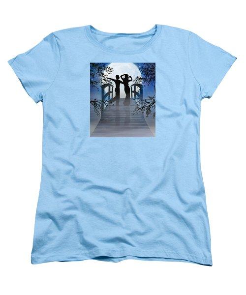 Dancing In The Moonlight Women's T-Shirt (Standard Cut) by Nina Bradica