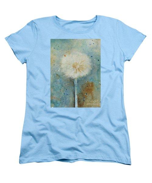 Dandelion Clock 2 Women's T-Shirt (Standard Cut)