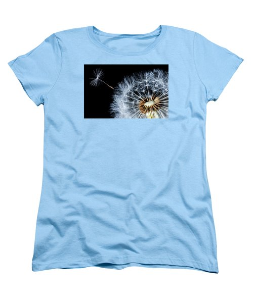 Women's T-Shirt (Standard Cut) featuring the pyrography Dandy by Bess Hamiti