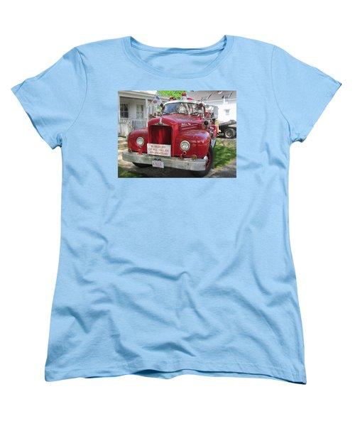 Danvers - Old Fire Engine Women's T-Shirt (Standard Cut)