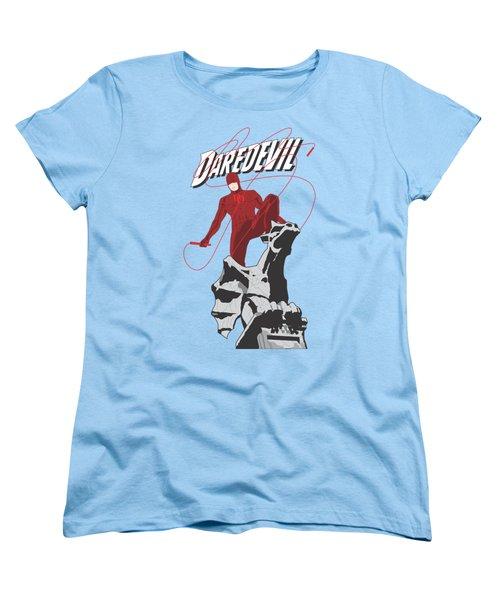 Daredevil Women's T-Shirt (Standard Cut) by Troy Arthur Graphics