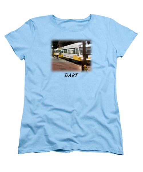Dart V2 T-shirt Women's T-Shirt (Standard Cut) by Rospotte Photography
