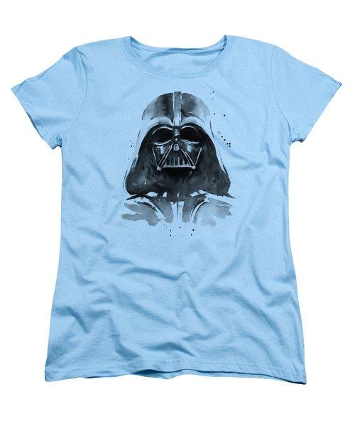 Darth Vader Watercolor Women's T-Shirt (Standard Fit)