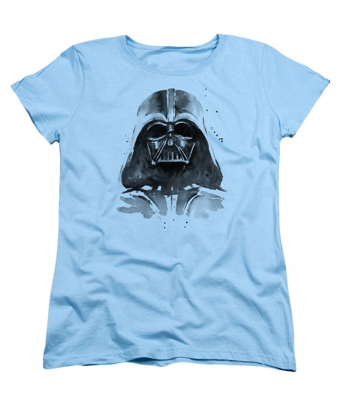 Darth Vader Watercolor Women's T-Shirt (Standard Cut)
