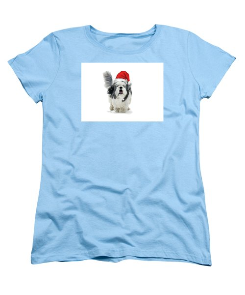 Dashing Through The Snow Women's T-Shirt (Standard Cut) by Keith Armstrong