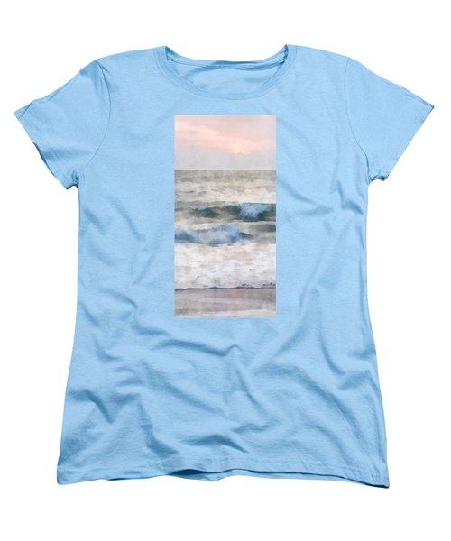 Dawn Beach Women's T-Shirt (Standard Cut) by Francesa Miller