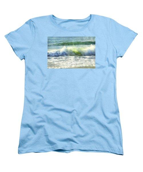 Dawn Wave Women's T-Shirt (Standard Cut) by Francesa Miller