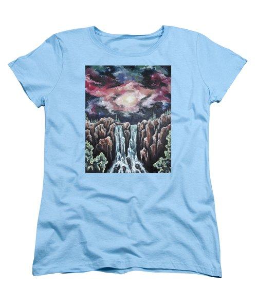Day One, The Beginning Women's T-Shirt (Standard Cut) by Cheryl Pettigrew