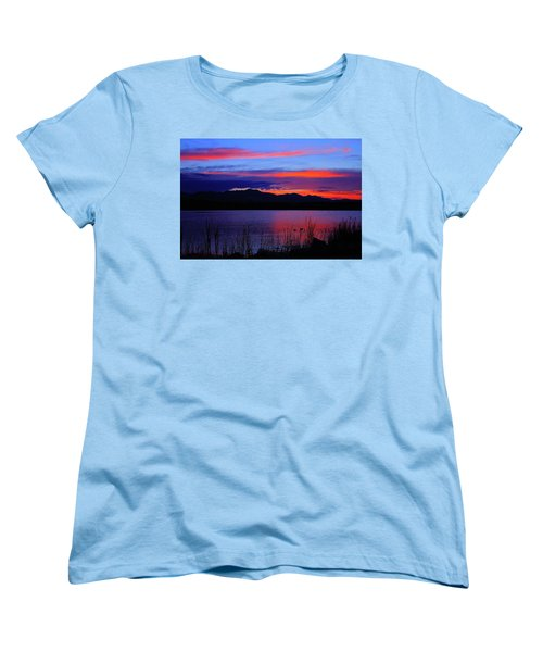 Daybreak Sunset Women's T-Shirt (Standard Cut) by Paul Marto