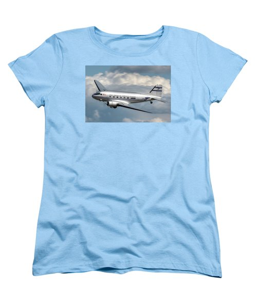 Women's T-Shirt (Standard Cut) featuring the photograph Dc-3 by Jeff Cook