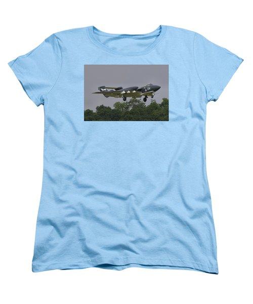 Women's T-Shirt (Standard Cut) featuring the photograph De Havilland Dh110 Sea Vixen  by Tim Beach