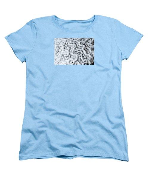 Dead Brain Coral Women's T-Shirt (Standard Cut) by Perry Van Munster