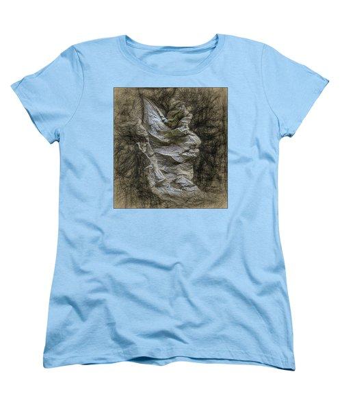 Women's T-Shirt (Standard Cut) featuring the photograph Dead Leaf by Vladimir Kholostykh