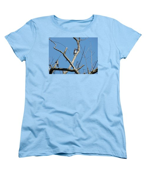 Dead Tree - Wildlife Women's T-Shirt (Standard Cut) by Donald C Morgan