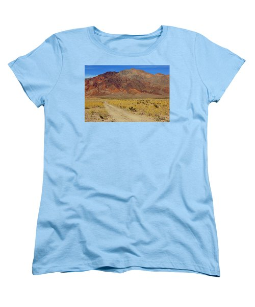 Death Valley Superbloom 205 Women's T-Shirt (Standard Cut) by Daniel Woodrum