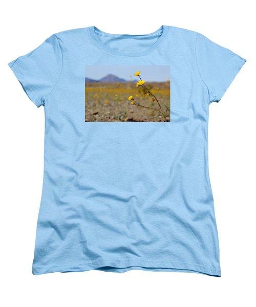 Death Valley Superbloom 501 Women's T-Shirt (Standard Cut) by Daniel Woodrum