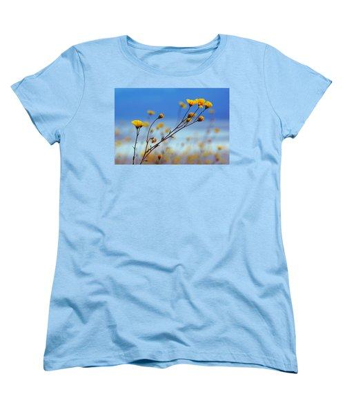 Death Valley Superbloom 502 Women's T-Shirt (Standard Cut) by Daniel Woodrum