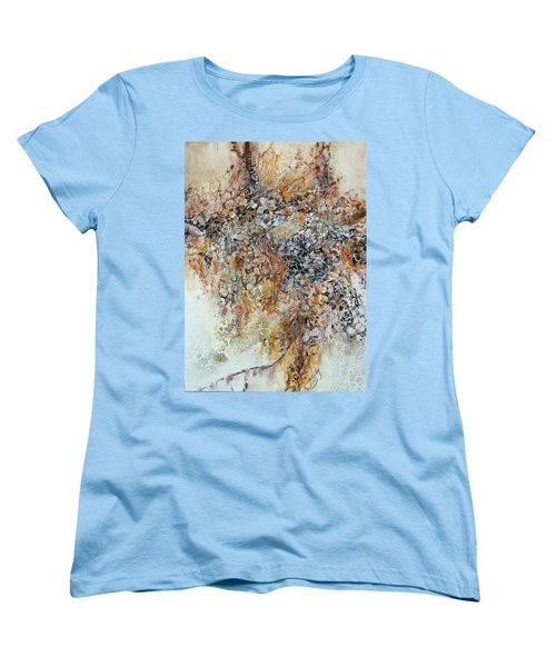 Women's T-Shirt (Standard Cut) featuring the painting Decomposition  by Joanne Smoley