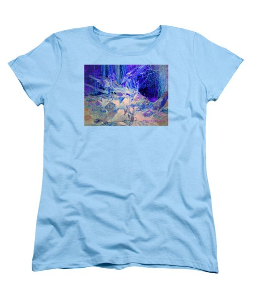 Women's T-Shirt (Standard Cut) featuring the photograph Deep In The Forest by Joyce Dickens