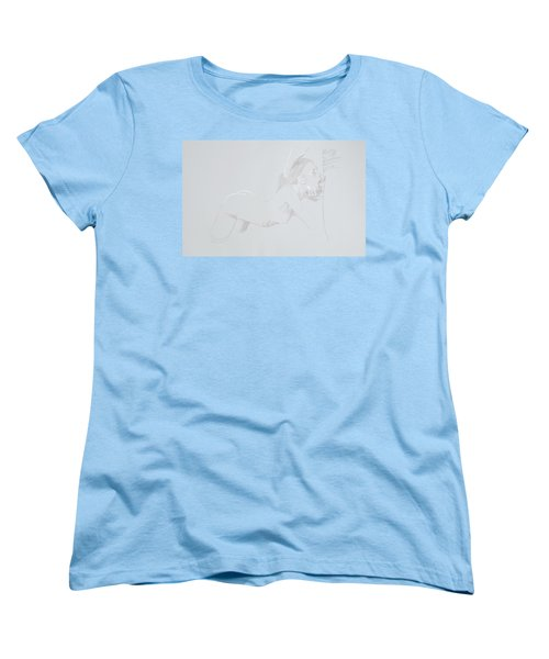 Women's T-Shirt (Standard Cut) featuring the mixed media Deepthroat by TortureLord Art