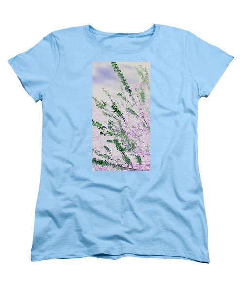 Women's T-Shirt (Standard Cut) featuring the photograph Delicacy by Lenore Senior