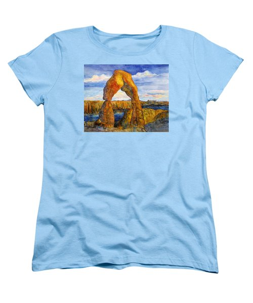 Delicate Arch Women's T-Shirt (Standard Cut) by Patricia Beebe