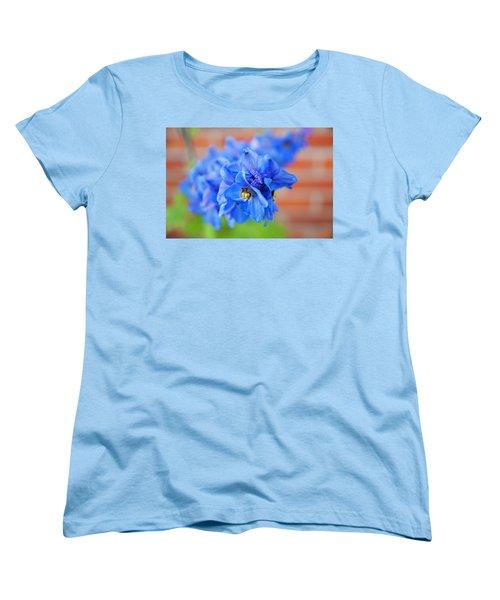Delphinium Women's T-Shirt (Standard Cut) by Tamara Sushko