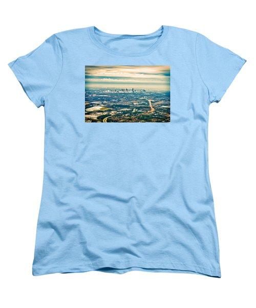 Atlanta Women's T-Shirt (Standard Cut) by Robert FERD Frank