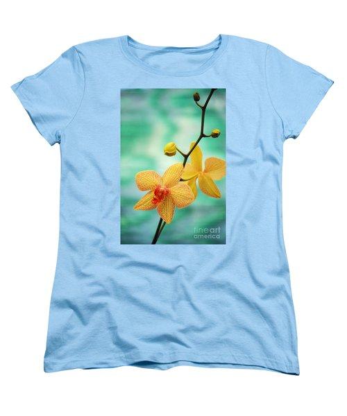 Dendrobium Women's T-Shirt (Standard Cut) by Allan Seiden - Printscapes