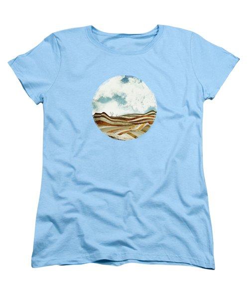 Desert Calm Women's T-Shirt (Standard Cut) by Spacefrog Designs