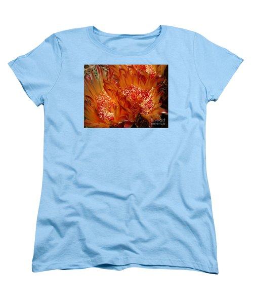 Desert Fire Women's T-Shirt (Standard Cut) by Kathy McClure