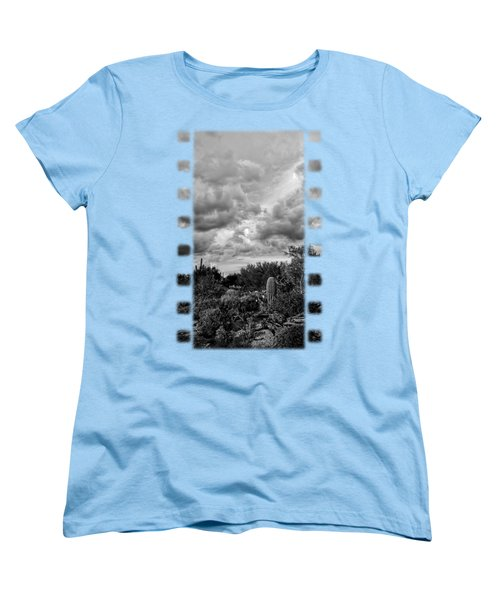 Desert In Clouds V15 Women's T-Shirt (Standard Cut) by Mark Myhaver