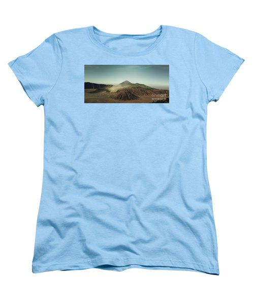 Women's T-Shirt (Standard Cut) featuring the photograph Desert Mountain  by MGL Meiklejohn Graphics Licensing