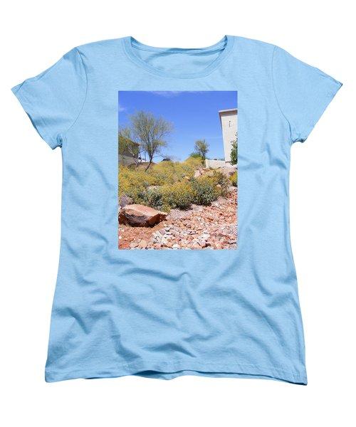 Desert Yard Women's T-Shirt (Standard Cut) by Adam Cornelison