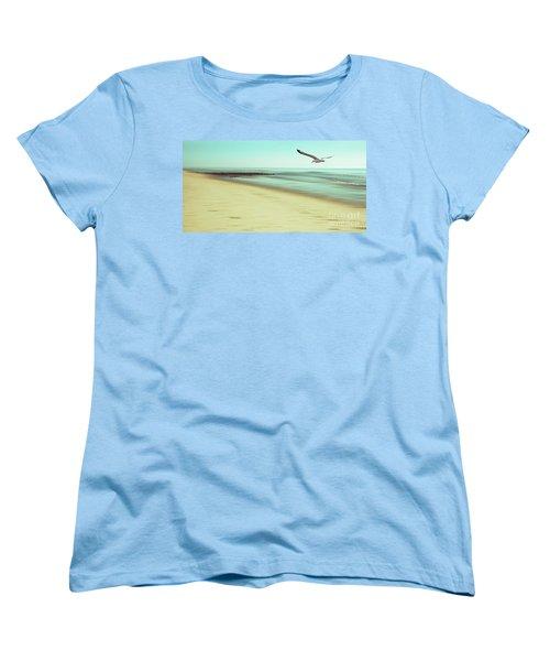 Women's T-Shirt (Standard Cut) featuring the photograph Desire Light Vintage2 by Hannes Cmarits