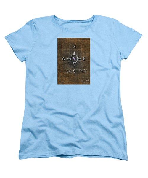 Women's T-Shirt (Standard Cut) featuring the digital art Destiny by Linda Prewer