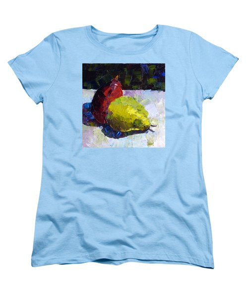 Deux D'anjou Women's T-Shirt (Standard Cut) by Susan Woodward