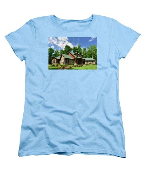 Devers Residence - King George, Va Women's T-Shirt (Standard Cut) by Dana Sohr