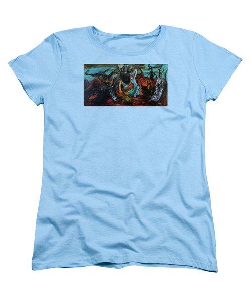 Devils Gorge Women's T-Shirt (Standard Cut) by Christophe Ennis