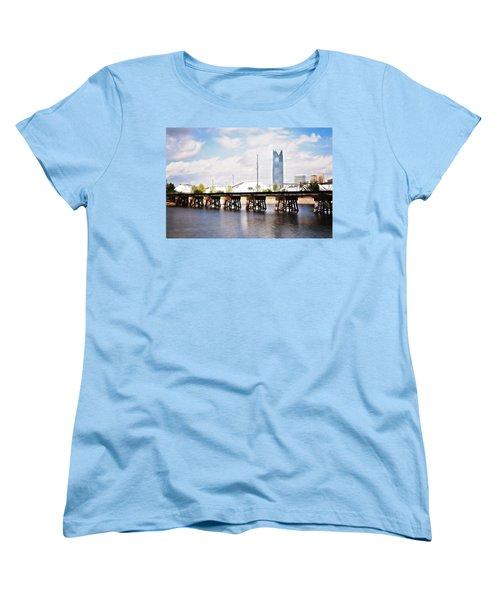 Devon Tower Women's T-Shirt (Standard Cut) by Lana Trussell